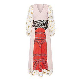 Sweeney Multi-Patterned Dress