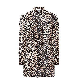 Cedar Leopard Print Shirt