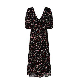 Elm Long Georgette Dress