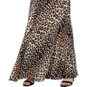 Leopard Print Silk Slip Dress, ${color}