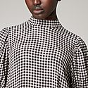 Gingham Cropped Dress, ${color}