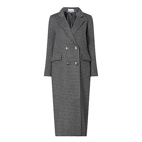 Check Wool Coat, ${color}