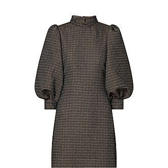 Slub Suiting Dress