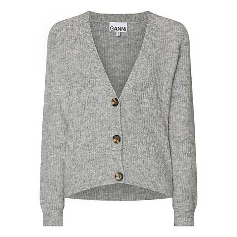 Cropped Wool Cardigan, ${color}