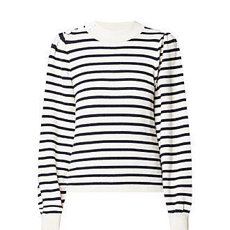 Stripe Wool Sweater