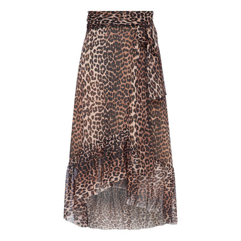 Tilden Leopard Print Skirt, ${color}