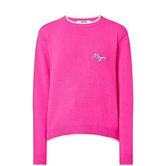 Wool-Cashmere Blend Sweater