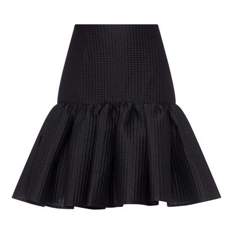 Mini Jacquard Skirt, ${color}