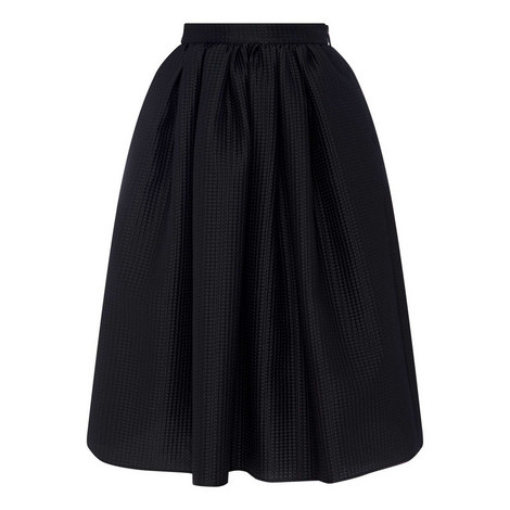 Relief Longuette Skirt, ${color}