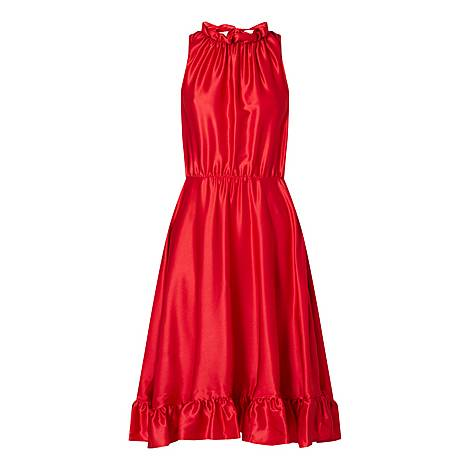 Ruffle Midi Dress, ${color}