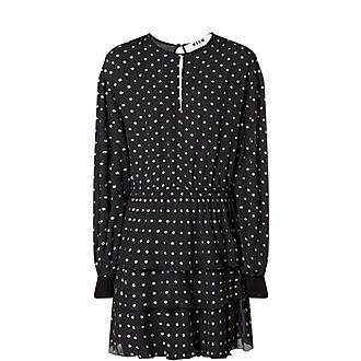 Glitter Dot Mini Dress