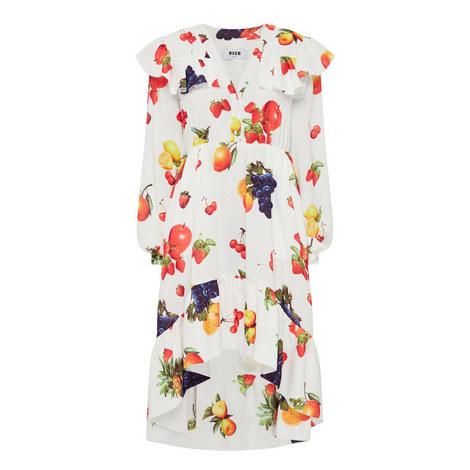 Midi Fruit Dress, ${color}