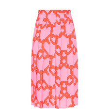 Chain Printed Skirt
