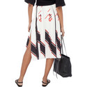 Nautical Pleated Skirt, ${color}