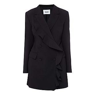 Ruffle Dress Blazer