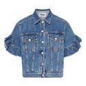 Ruffle Sleeve Jacket, ${color}