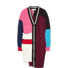Colour Block Cardigan