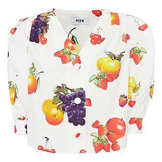 Fruit Print Top