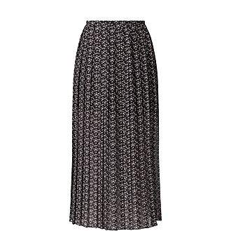 Pleated Micro Bisou Skirt