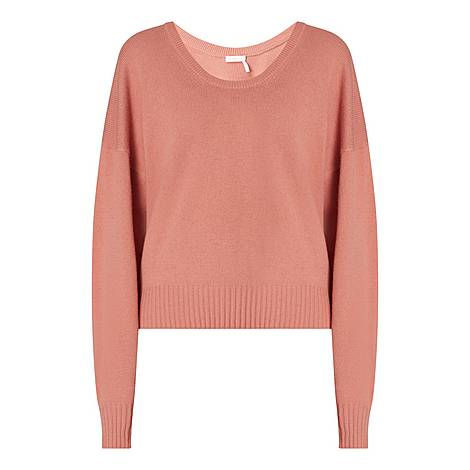 Scooped Neck Sweater, ${color}