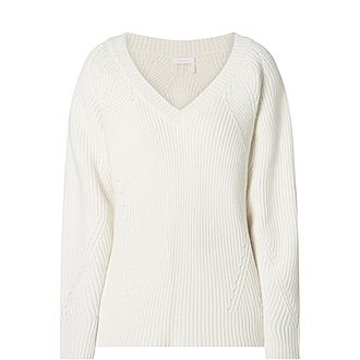 Vee Knit Sweater