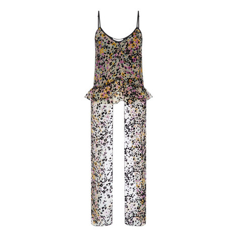 Spotted Flowers Top, ${color}