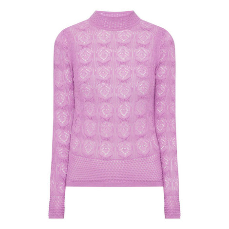 Crocket Knitted Sweater, ${color}