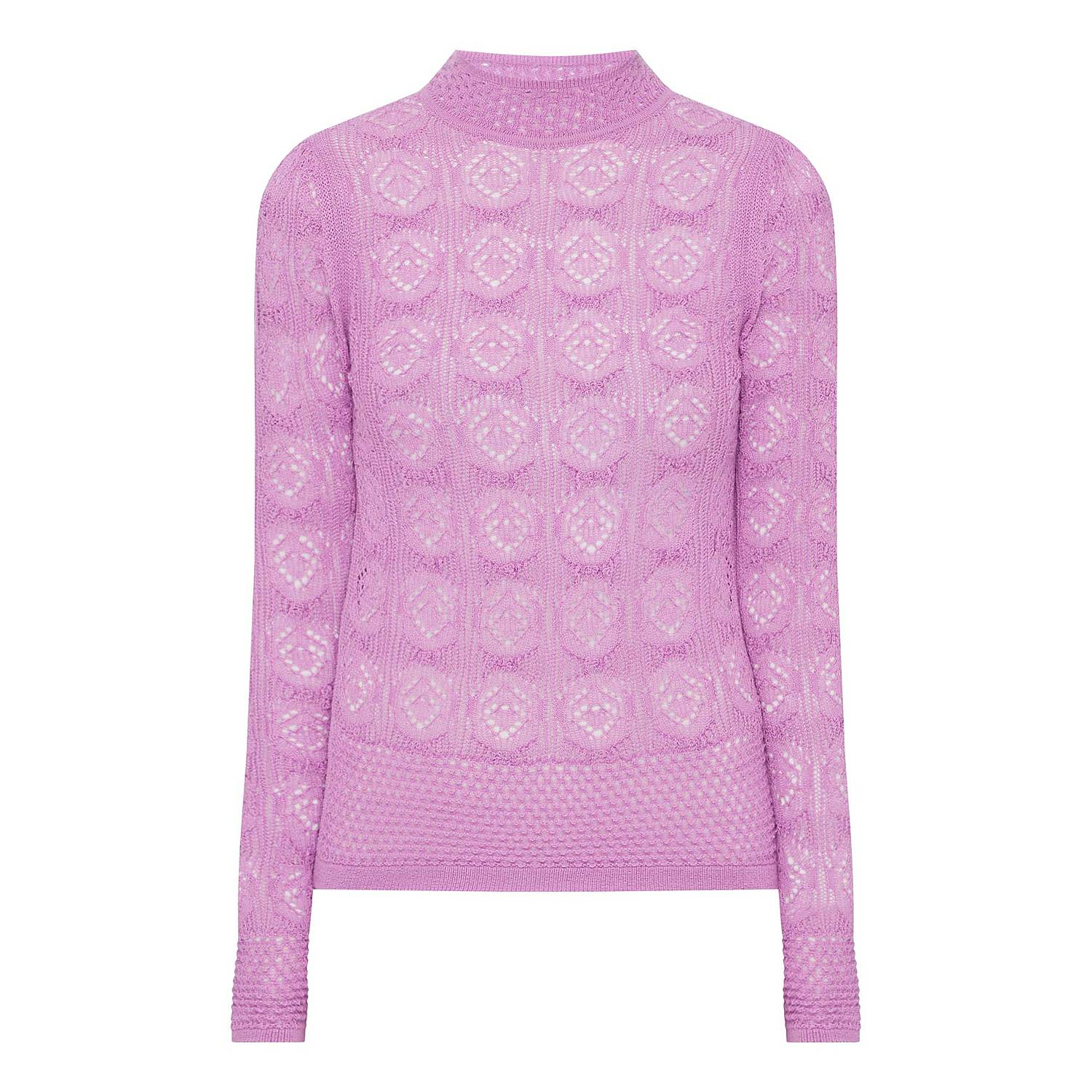3027295f237e ... Crocket Knitted Sweater, ${color}