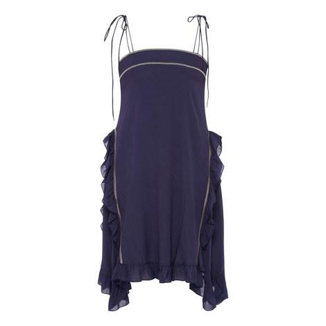 Strap Mini Dress, ${color}