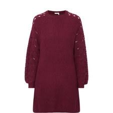 Cut-Out Knit Dresses