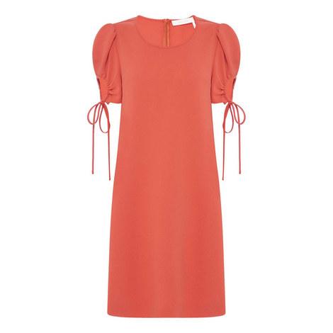 Crepe Mini Dress, ${color}