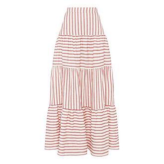 Coquillage Stripe Skirt