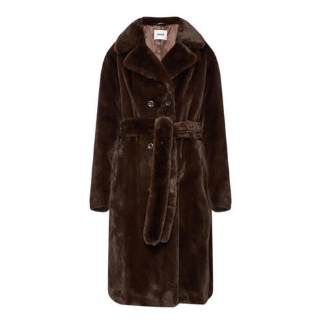 Faustine Velvet Coat, ${color}