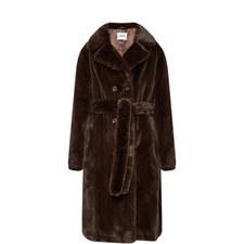 Faustine Velvet Coat