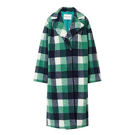 Maria Tartan Coat, ${color}