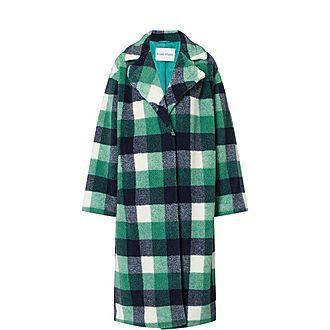 Maria Tartan Coat