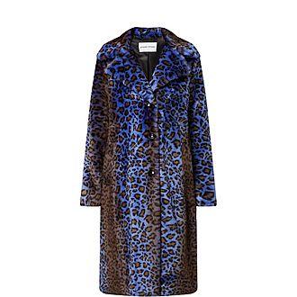 Fanny Acid Leopard Coat