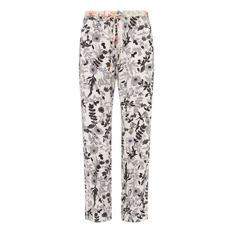 Aileen Floral Print Trousers, ${color}