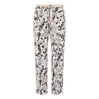 Aileen Floral Print Trousers