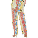 Aileen Silk Wallpaper Trousers, ${color}