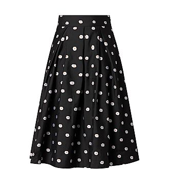 Piper Daisy Midi Skirt
