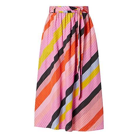Audrey Parallels Skirt, ${color}
