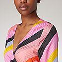 Paisley Parallels Dress, ${color}