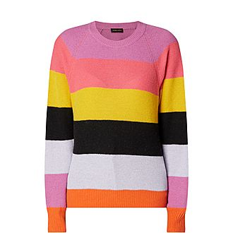 Magdalena Striped Sweater