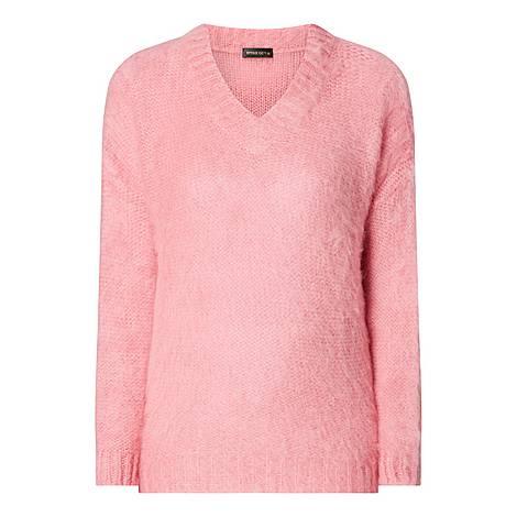 Nicola V-Neck Sweater, ${color}
