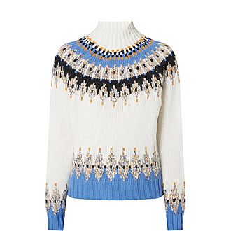 Justin Fair Isle Sweater
