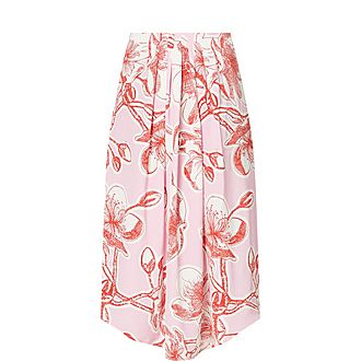 Silk Blossom Skirt