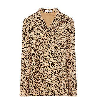 Billie Leopard Jacket