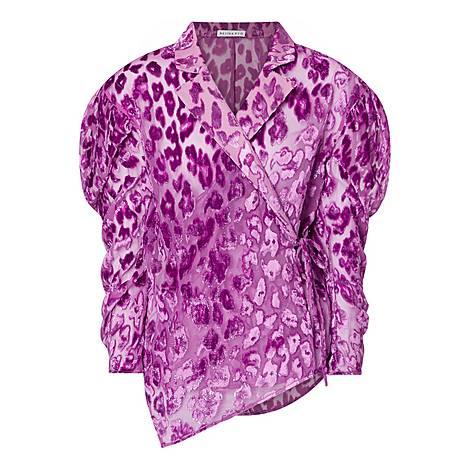 Leila Georgette Shirt, ${color}