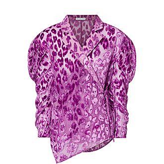 Leila Georgette Shirt